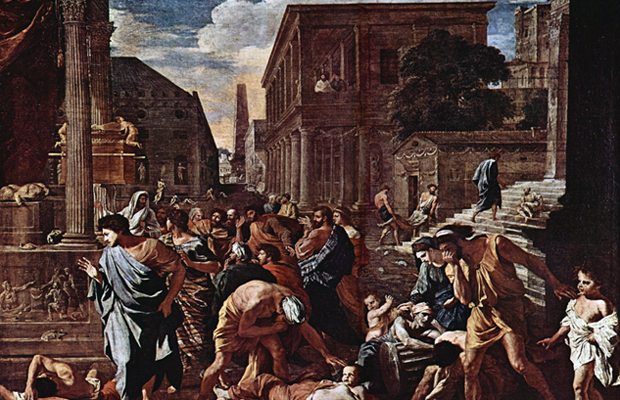 The Plague Of Ashdod by Nicolas Poussin (1631).