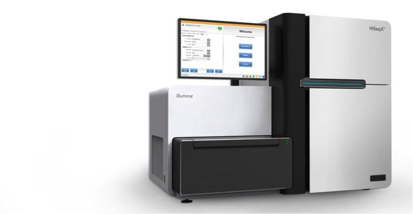 The Illumina HiSeq X Ten. Image Courtesy Illumina Inc.